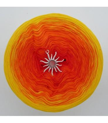 Farben des Feuers - Farbverlaufsgarn 4-fädig - Bild 7