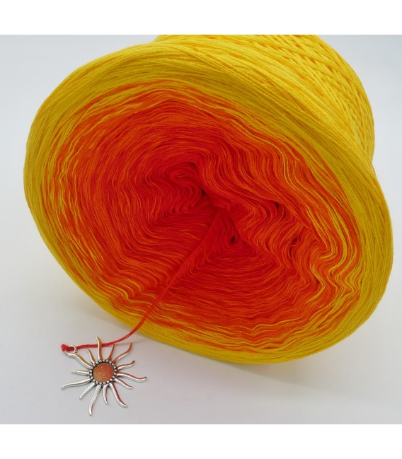 Farben des Feuers (Colors of fire) - 4 ply gradient yarn - image 8