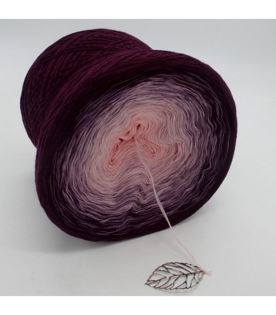 gradient yarn 4ply Wilde Lupinen - Chianti outside 3