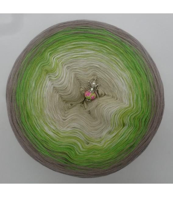 Sommergrün (лето зеленый) - 4 нитевидные градиента пряжи - Фото 3