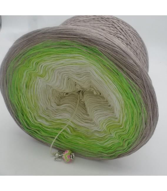 Sommergrün (лето зеленый) - 4 нитевидные градиента пряжи - Фото 5