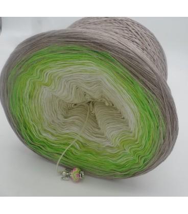 Sommergrün - Farbverlaufsgarn 4-fädig - Bild 5