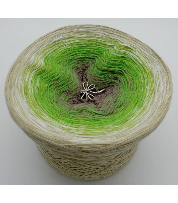 Sommergrün (лето зеленый) - 4 нитевидные градиента пряжи - Фото 6