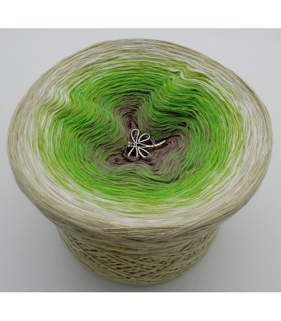 Sommergrün (summer Green) - 4 ply gradient yarn - image 6