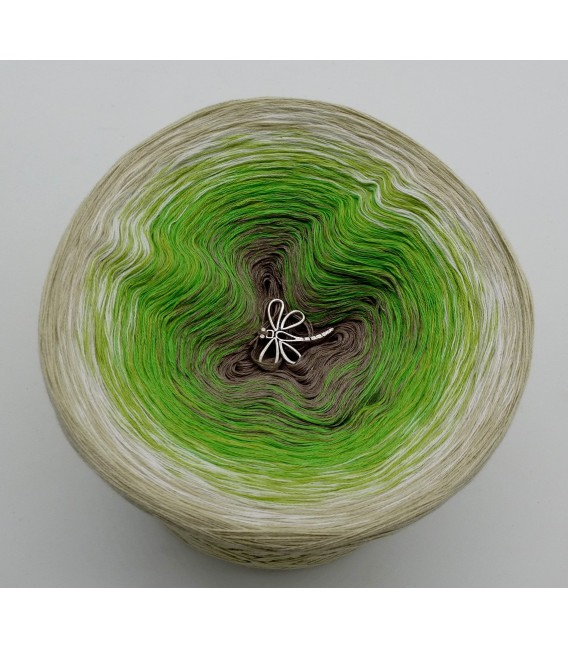 Sommergrün (лето зеленый) - 4 нитевидные градиента пряжи - Фото 7