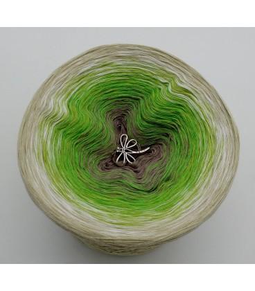 Sommergrün - Farbverlaufsgarn 4-fädig - Bild 7