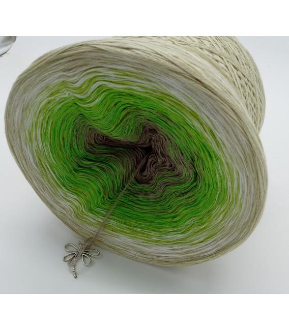 Sommergrün (лето зеленый) - 4 нитевидные градиента пряжи - Фото 9