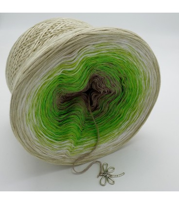 Sommergrün - Farbverlaufsgarn 4-fädig - Bild 10