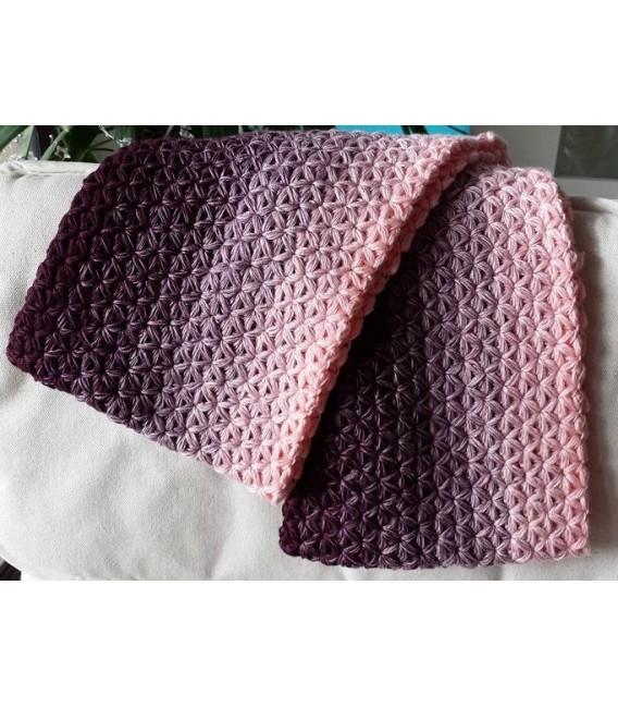 gradient yarn 4ply Wilde Lupinen - Chianti outside 7