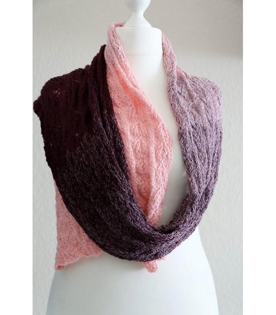 gradient yarn 4ply Wilde Lupinen - Chianti outside 8