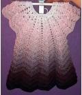 gradient yarn 4ply Wilde Lupinen - Chianti outside 9