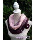 gradient yarn 4ply Wilde Lupinen - Chianti outside 10