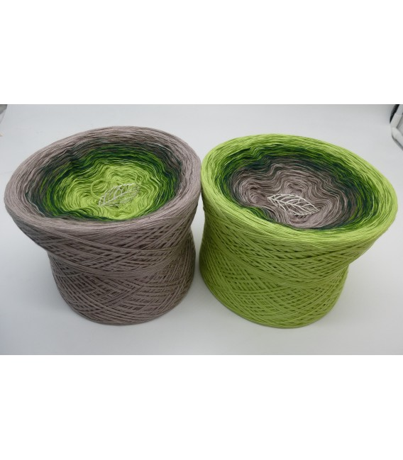 Naturgewalt (forces of nature) - 4 ply gradient yarn - image 1