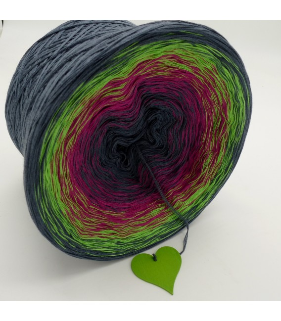 Februar (February) Bobbel 2018 - 4 ply gradient yarn