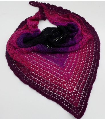 Dark Angel - 4 ply gradient yarn - image 5