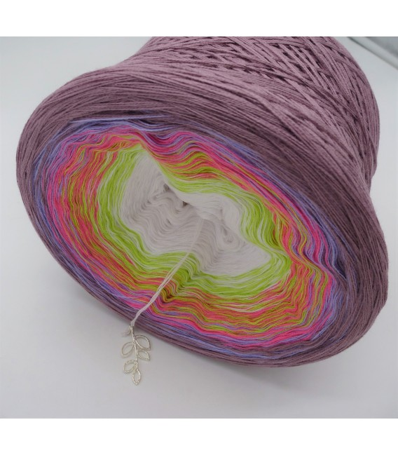 April Bobbel 2018 - 4 ply gradient yarn