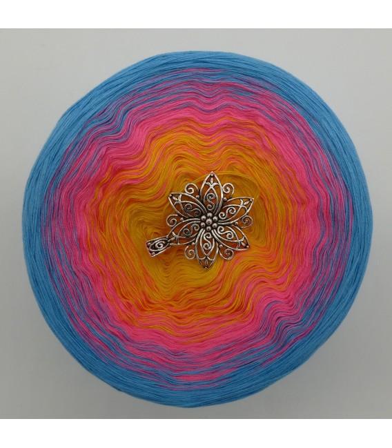 Blümchen - Farbverlaufsgarn 4-fädig - Bild 3