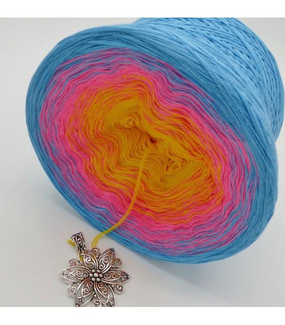 Blümchen - Farbverlaufsgarn 4-fädig - Bild 4