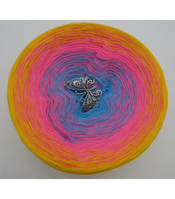 Blümchen - Farbverlaufsgarn 4-fädig - Bild 7