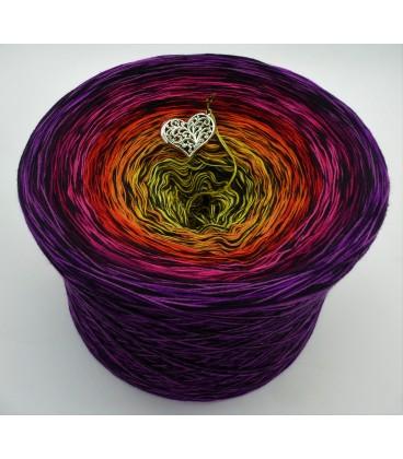 Farbspektakel - Warme Farbtöne (Цветной зрелище - Теплые цвета) - 4 нитевидные градиента пряжи - Фото 1