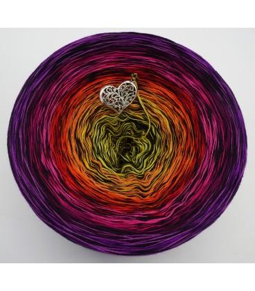 Farbspektakel - Warme Farbtöne (Цветной зрелище - Теплые цвета) - 4 нитевидные градиента пряжи - Фото 3
