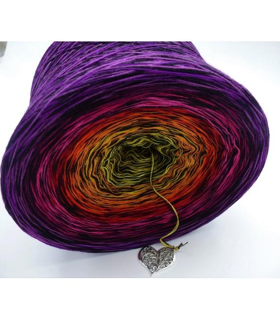 Farbspektakel - Warme Farbtöne (Цветной зрелище - Теплые цвета) - 4 нитевидные градиента пряжи - Фото 5