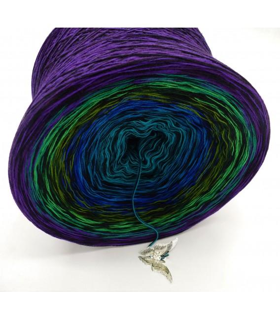 Farbspektakel - Kühle Farbtöne (Цветное очко - Прохладные цвета) - 4 нитевидные градиента пряжи - Фото 4