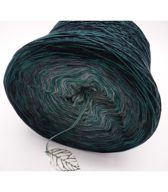 Lust auf Smaragd (lust on emerald) - 4 ply gradient yarn - image 3