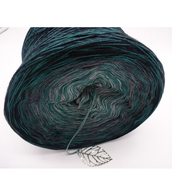 Lust auf Smaragd (lust on emerald) - 4 ply gradient yarn - image 4
