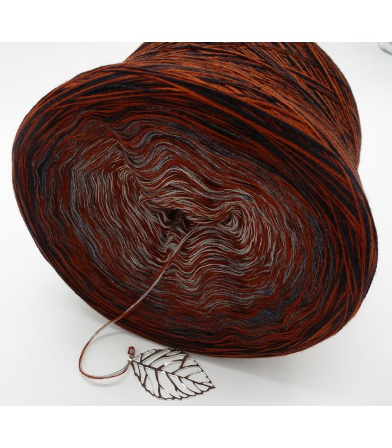 Lust auf Kastanie (lust on chestnut) - 4 ply gradient yarn