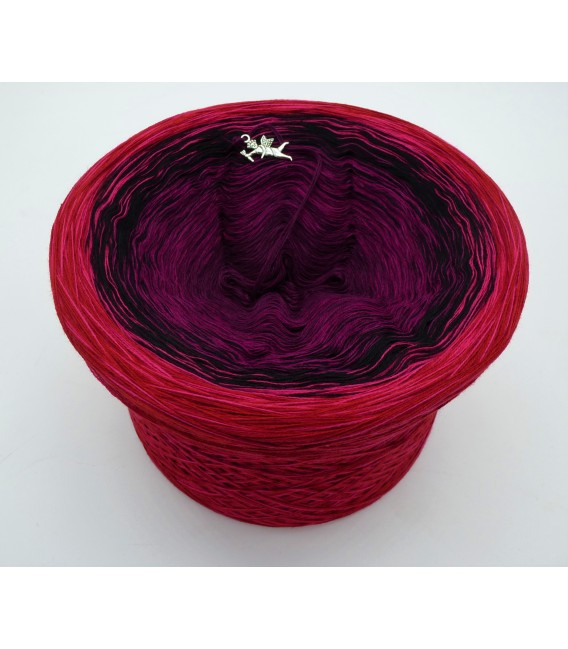 Granatapfel (pomegranate) - 4 ply gradient yarn - image 1
