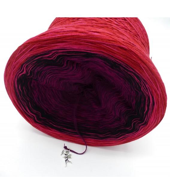 Granatapfel - Farbverlaufsgarn 4-fädig - Bild 3