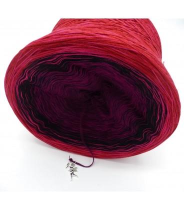 Granatapfel (pomegranate) - 4 ply gradient yarn - image 3