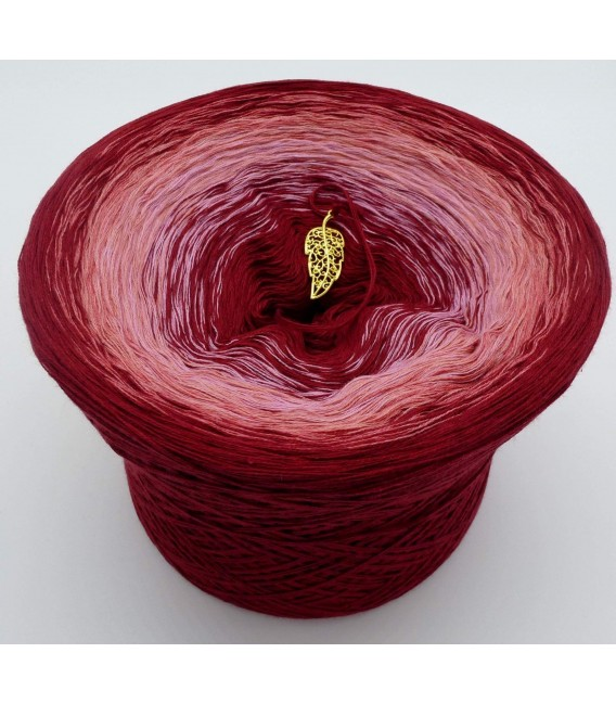 Red Red Wine - 4 ply gradient yarn - image 1