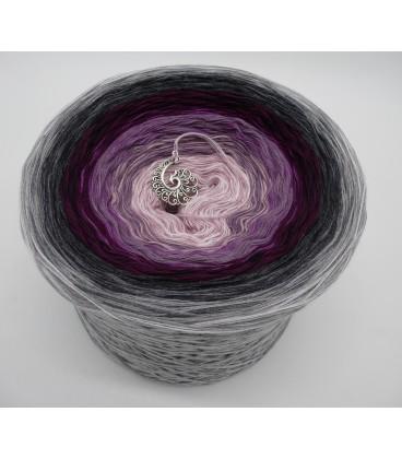 Liebe ist ..... Zärtlichkeit (Love is ..... tenderness) - 4 ply gradient yarn - image 1