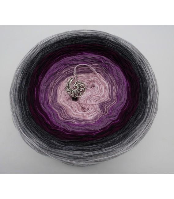 Liebe ist ..... Zärtlichkeit (Love is ..... tenderness) - 4 ply gradient yarn - image 2