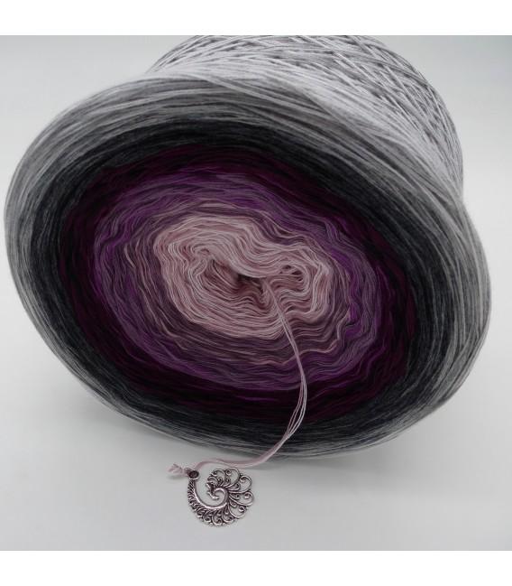 Liebe ist ..... Zärtlichkeit (Love is ..... tenderness) - 4 ply gradient yarn - image 3