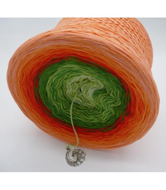 Liebe ist ... Freude (Love is ... joy) - 4 ply gradient yarn - image 3