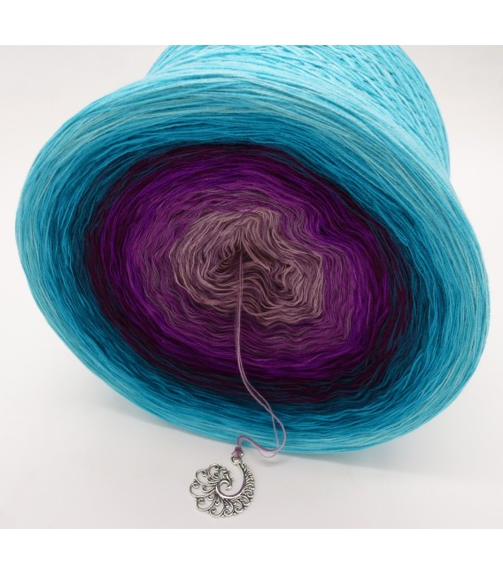 Liebe ist ... Leben (Love is ... life) - 4 ply gradient yarn - image 3
