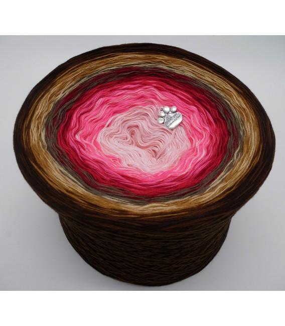 Liebe ist ... Geborgenheit (Love is ... security) - 4 ply gradient yarn - image 1
