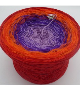 Red Magic - 4 ply gradient yarn