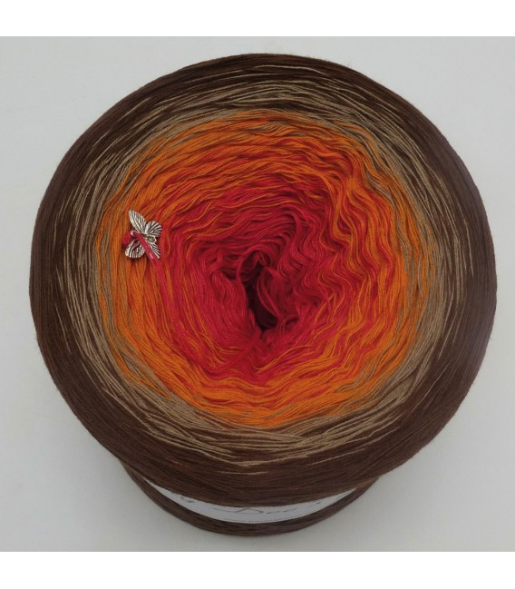 Spätsommer Zauber (Late summer magic) - 4 ply gradient yarn - image 3