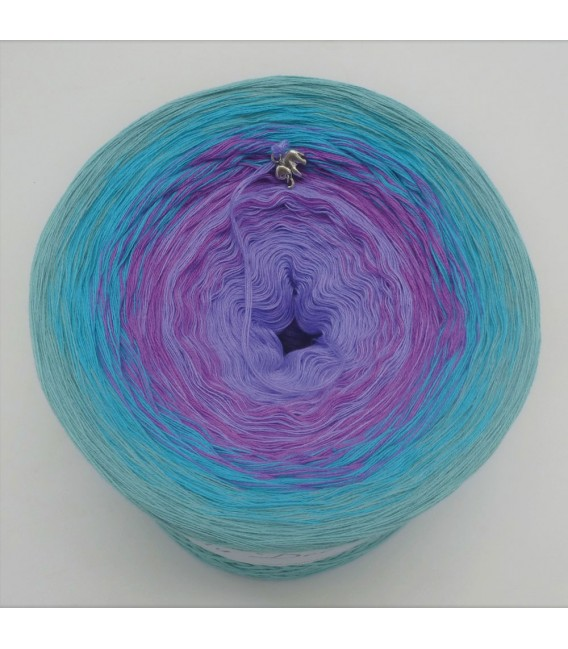 Indigo Girl - 4 ply gradient yarn - image 3