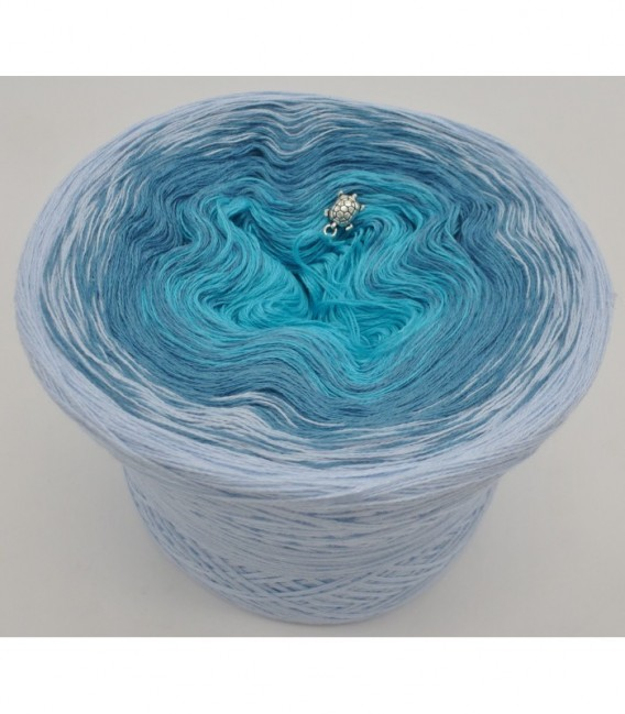Blaue Lagune (Голубая лагуна) - 3 нитевидные градиента пряжи - Фото 6
