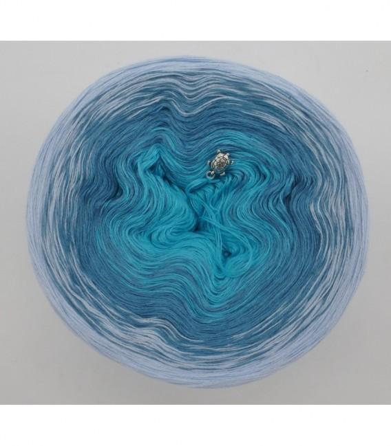 Blaue Lagune (Голубая лагуна) - 3 нитевидные градиента пряжи - Фото 7