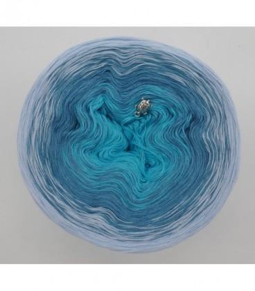 Blaue Lagune - Farbverlaufsgarn 3-fädig - Bild 7