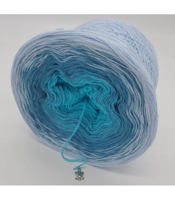 Blaue Lagune (Голубая лагуна) - 3 нитевидные градиента пряжи - Фото 9