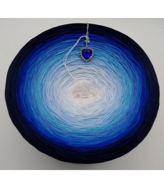 Herz des Ozeans (Coeur de l'océan) Gigantesque Bobbel - 4 fils de gradient filamenteux - photo 5