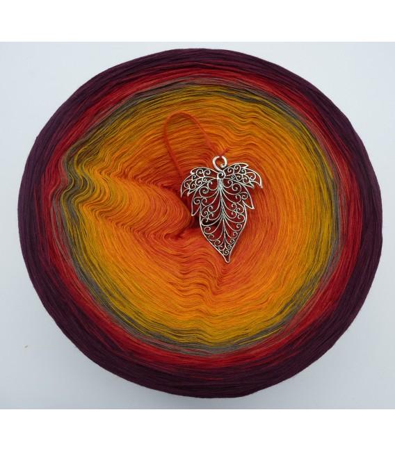 Liebe im Herbst Megabobbel - Farbverlaufsgarn 4-fädig - Bild 2