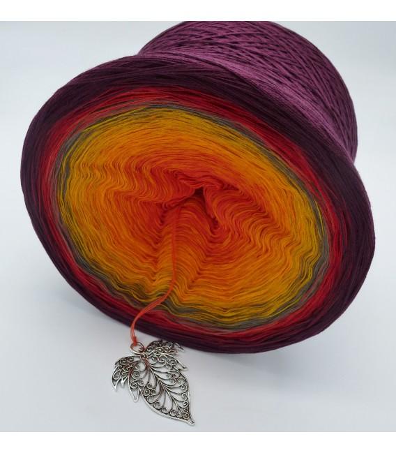 Liebe im Herbst Megabobbel - Farbverlaufsgarn 4-fädig - Bild 4